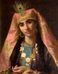 Sophie Gengembre Anderson (1823-1903)  Scheherazade  Oil on canvas, unknown  Private collection